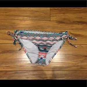 Mossimo S Tribal Print Bikini Bottom EUC